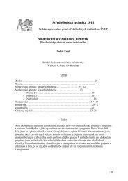 Středoškolská technika 2011 Modelování a vizualizace bižuterie