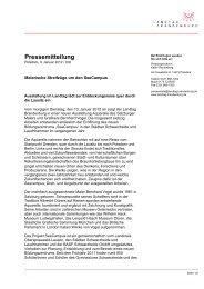 Pressemitteilung - Landtag Brandenburg - Brandenburg.de