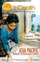 Issue 9 - 2011 - Asia Pacific Hungry for God's Word - Biblica