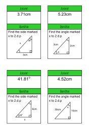 trigonometry - Mr Barton Maths