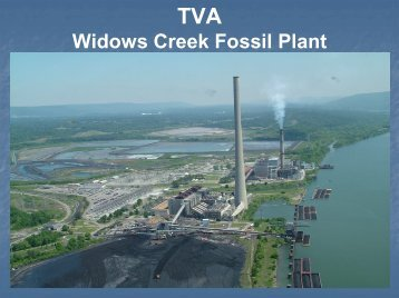 Widows Creek Fossil Plant - U.S. National Response Team (NRT)