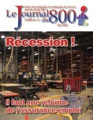mai 2009 - Union des employés et employées de service - Locale 800