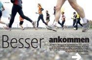 Der Mythos Marathon ist ungebrochen. Für viele ... - Carsten Eich