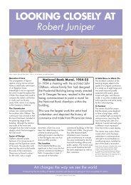Robert Juniper - National Bank Mural - Art Gallery of Western Australia