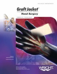 graftjacket - Wright Medical Technology, Inc.