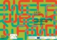 Perspektiven für 2013+ - Nationalparks Austria