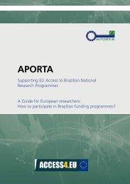 Guide for European researchers - Access4.eu