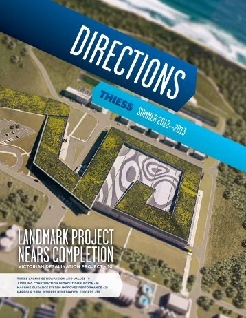 Thiess - Directions, Summer 2012-2013 - Leighton Holdings