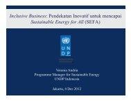 Pendekatan Inovatif untuk mencapai Sustainable Energy for ... - IESR