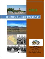 Tsolwana FINAL IDP review 2013 -2014 v4.pdf - Provincial Spatial ...
