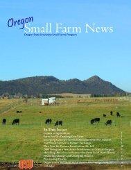 Small Farm News - Oregon Small Farms - Oregon State University