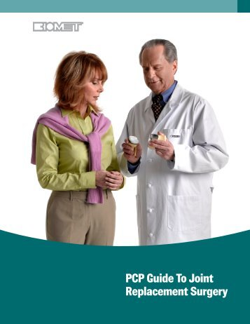 PCP Guide To Joint Replacement Surgery