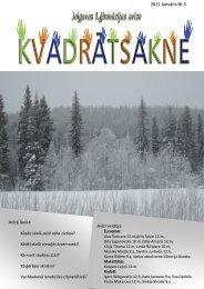 2012.g. janvāris Nr.5 - Jelgavas 1. ģimnāzija