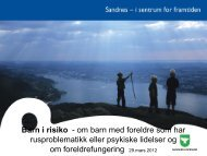 barn i risiko - Sandnes Kommune