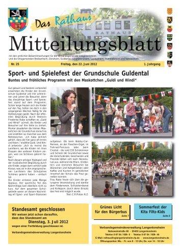 Sport- und Spielefest der Grundschule Guldental