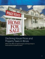 Declining Housing Prices and Property Taxes - Institute of ...