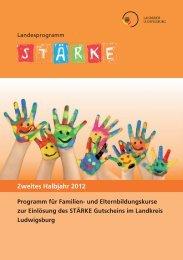 Zweites Halbjahr 2012 - Landratsamt Ludwigsburg