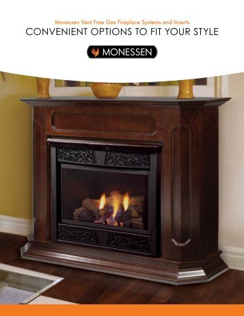 Monessen Vent Free Gas Fireplace Systems and Inserts