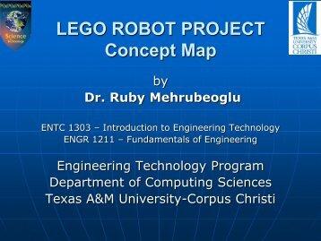 LEGO ROBOT PROJECT Concept Map - Texas A&M University ...