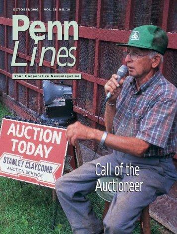 October 2003 - PREA - The Pennsylvania Rural Electric Association
