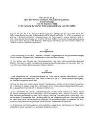Taxenordnung - beim Landkreis Cuxhaven