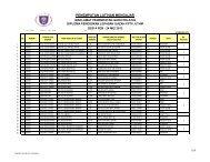 final exam schedule semester i 2011/2012 session     - FPTV - UTHM