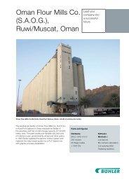 Oman Flour Mills Co. (SAOG) - Bühler