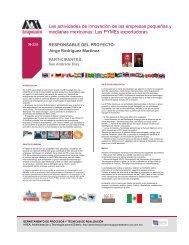 Las actividades de innovación de las empresas pequeñas y ...