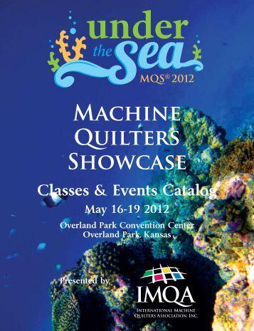 Machine Quilters Showcase - MQS