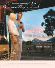 Autumn in the country - Queensland Holidays