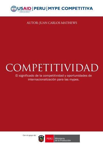 El significado de la competitividad y oportunidades ... - CRECEmype