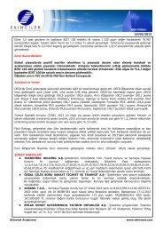 Gün Ortası 10/06/2013 Güne 1,5 saat gecikme ile başlayan BIST ...