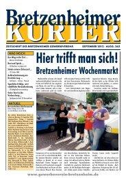 Bretzenheimer Wochenmarkt - Gewerbeverein Bretzenheim