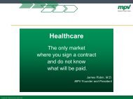 Sandra Frykman, Medical Present Value
