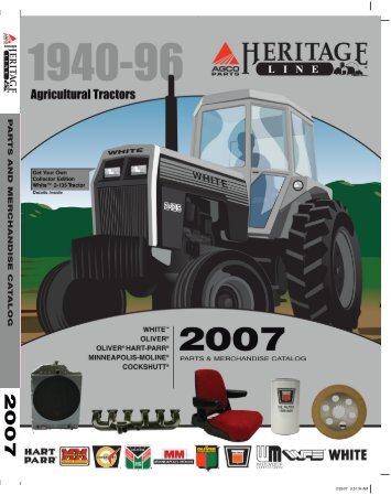 Find information about your Oliver White or ... - Boone Tractor