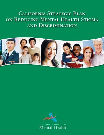 The California Strategic Plan on Reducing Mental Health Stigma ...