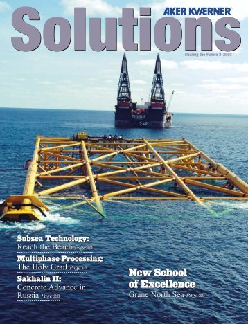 Download Solutions 2003 issue 2 - Aker Solutions