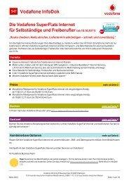 Infodok 547: Die Vodafone Superflats Internet f
