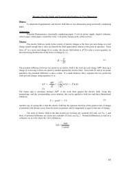 Mapping Electric Fields and Equipotential Surfaces in Two ... - Physics