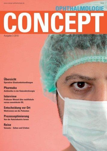 Concept Ophthalmologie, Heft 2/2010 - Klinikum Ernst von ...