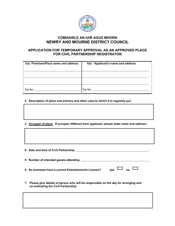 Application Form for Enlistment as Civil Contractor With DJB ...