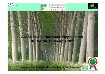 Pioppicoltura per l'architettura ed architettura della pioppicoltura Dr ...