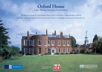 Orford House - HLL Humberts Leisure