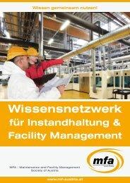MFA-Kurzbeschreibung - Maintenance and Facility Management ...
