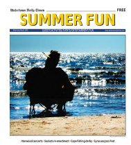 guide to activities/ events/ entertainment/ fun - Watertown Daily Times