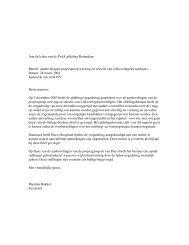 stellingen projectgroep anderson door bestuur ... - PvdA Rotterdam