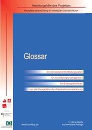 Glossar - Bildungspolitik - Ver.di