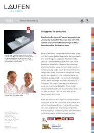 Digi.Linq Presse-Information Designpreis für Living City - Laufen