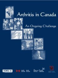 Canadian Arthritis Research Report Fall 2007 - Lupus Canada