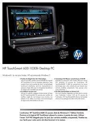 PSG Consumer 2C08 OV2 HP Notebook Datasheet
